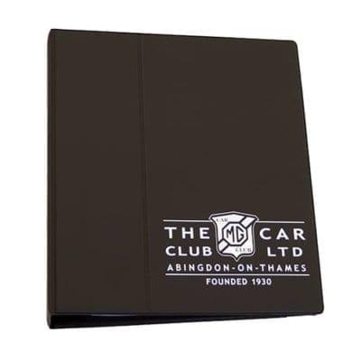 Vehicle Document Binder