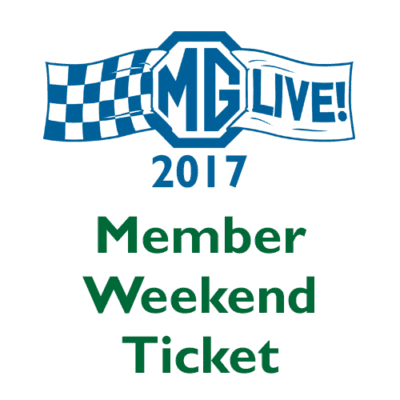Member Weekend Ticket