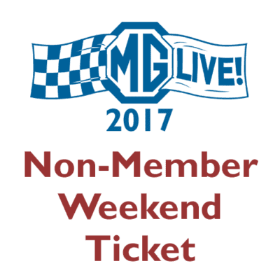 Non-Member Weekend Ticket