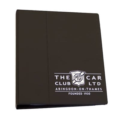 Vehicle Document Binder