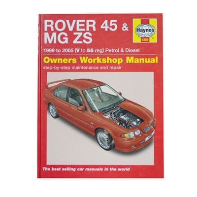 MG ZS Workshop Manual
