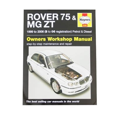 MG ZT Workshop Manual