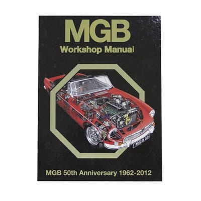 MGB Workshop Manual 50th Anniversary Colour Edition