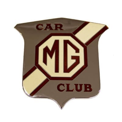 Large MG Car Club Grille