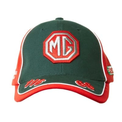 mg tf baseball cap logo hat
