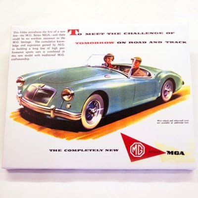 MGA Classic Advert Canvas