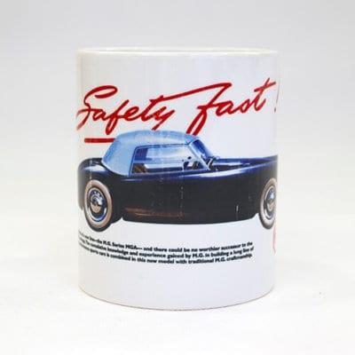 MG Safety Fast! MGA Mug