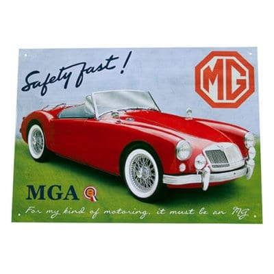 MGA Metal Wall Sign