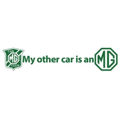 MGCC My other car is an MG 500