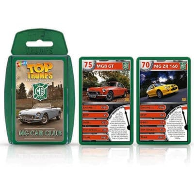 MG Car Club Top Trumps