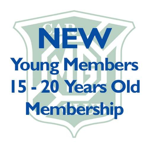 New 15 – 20 Years Membership