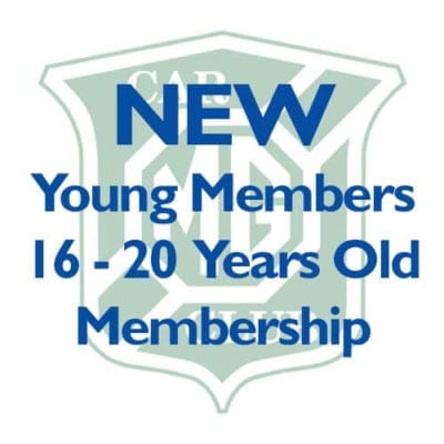 NEW – Young Members aged 16-20 Membership