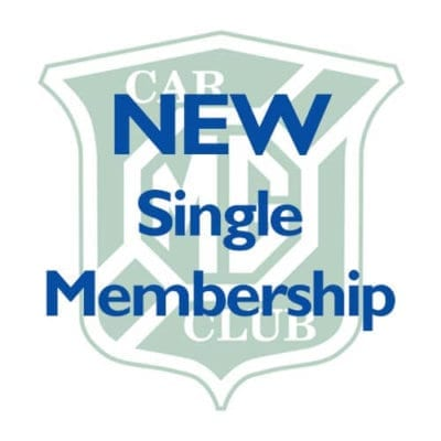 NEW – Single Membership