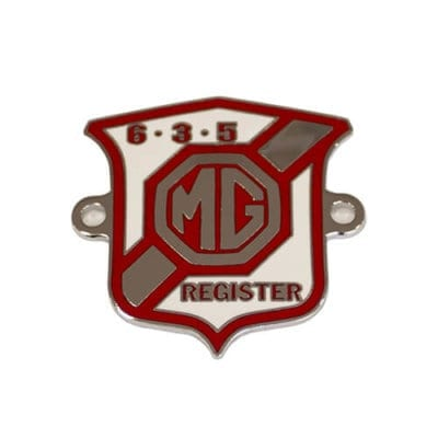 635 Register Grille Badge