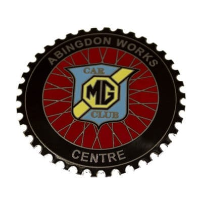 Abingdon Works Centre Windscreen sticker