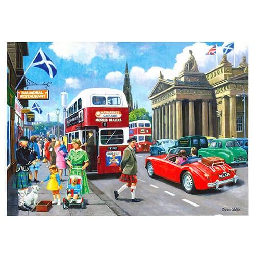 Happy Days at Edinburgh
