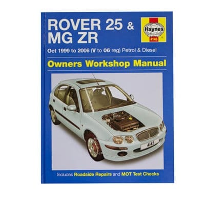 MG ZR Workshop Manual