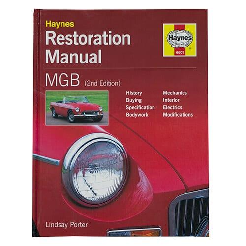 haynes mgb restoration manual mg car club shop rh shop mgcc co uk 1966 MGB 1977 MGB