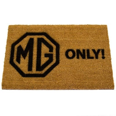 'MG Only' Doormat