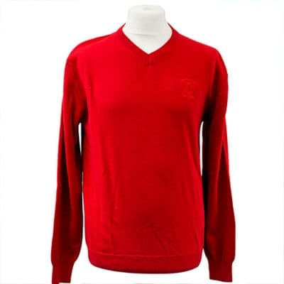 MG Car Club V-Neck Jumper
