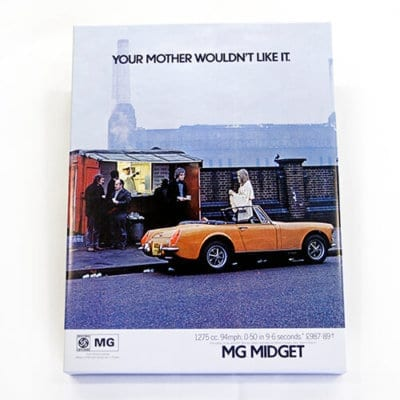 MG Midget 'Your Mother Wouldn't Like It' Canvas
