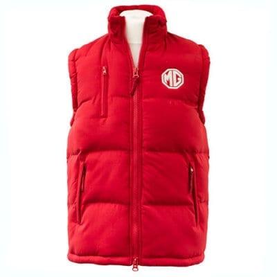 MG Red Body Warmer