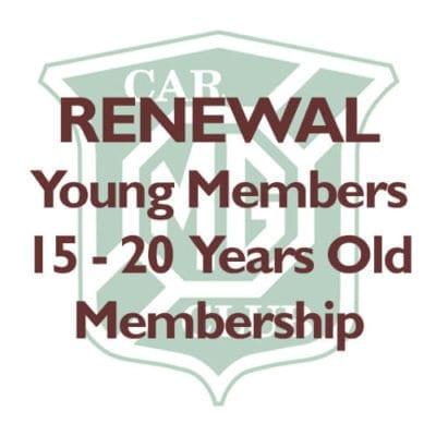 Renewal 15 - 20 Years Membership