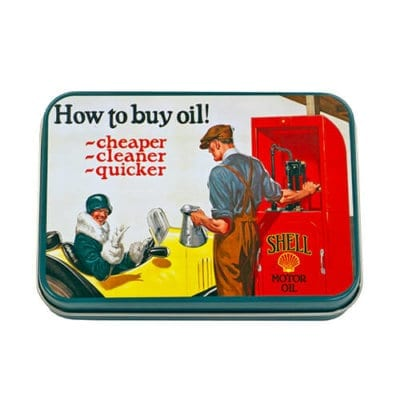 Shell Oil Keepsake Tin
