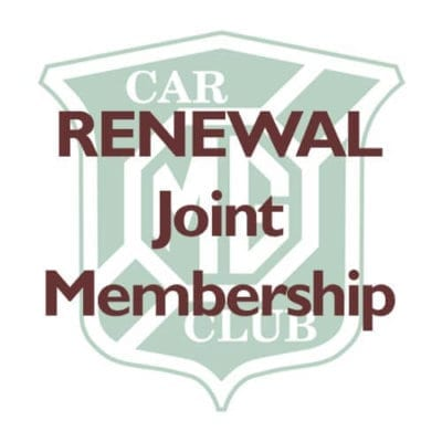 RENEWAL – Joint Membership