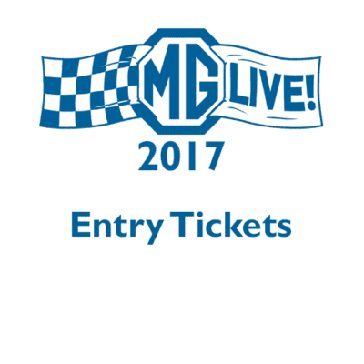 MGLive! 2017 Entry Tickets