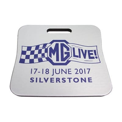 MGLive! 2017 cushion and kneeling pad
