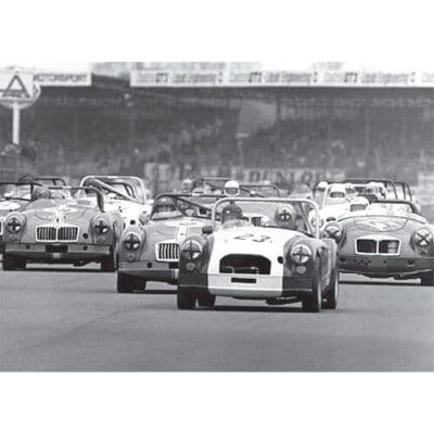 MGA Racing, Silverstone, Copse Corner, 1970s - 500