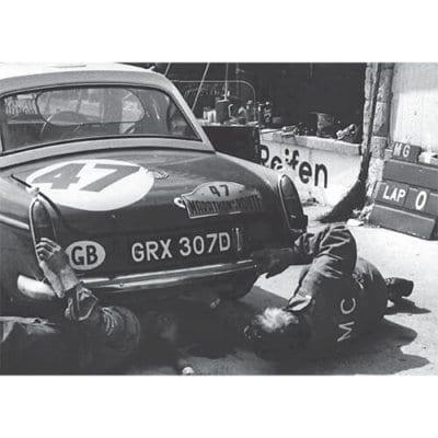 MGB MKII, Nürburgring, 1966 - 500