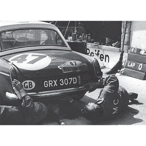 MGB MKII, Nürburgring, 1966 – 500