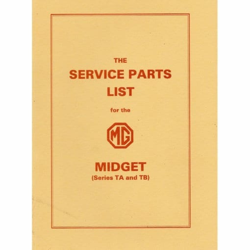 24. T_Register_TAB_service_parts_list