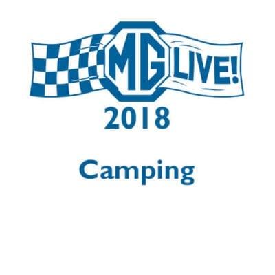 MGLive! 2018 Camping