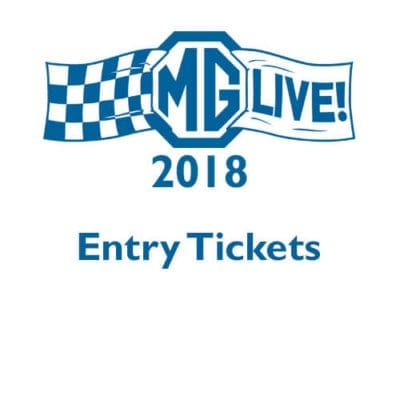 MGLive! 2018 Entry Tickets