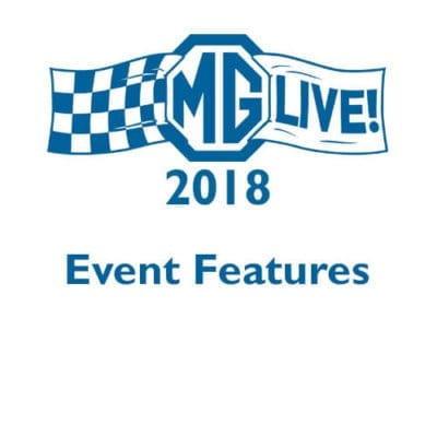 MGLive! 2018 Event Features