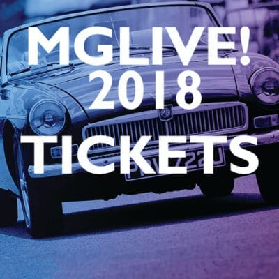 MGLive! 2018 Tickets
