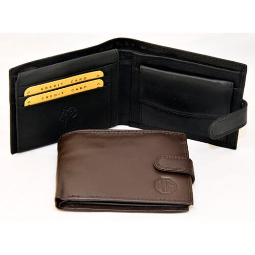 Wallets black and brown