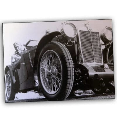 Doreen Evans in MG P-Type Le Mans 1934 500x500