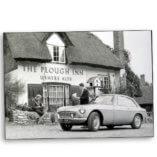 MGBGT at the Plough Inn Clifton Hampden Oxfordshire 1965 500×500