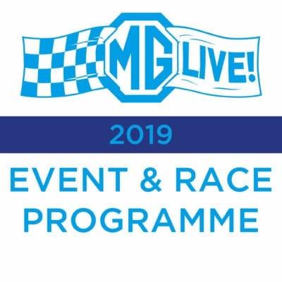 Event & Race Programme