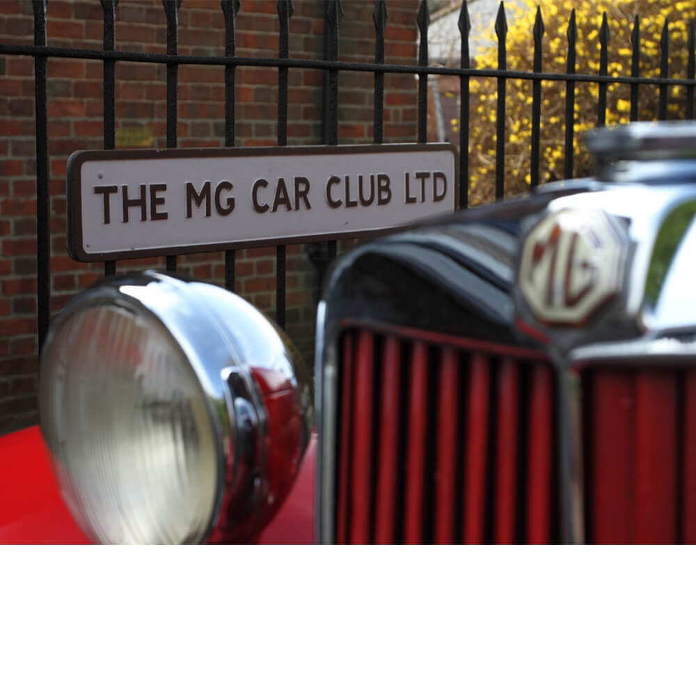 MG Car Club Membership