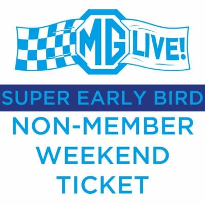 Super Early Bird Non- Member Weekend