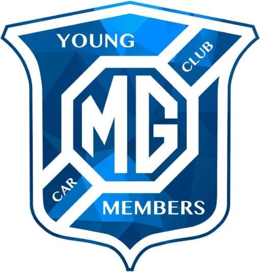 Young members Badge Blue Low Res