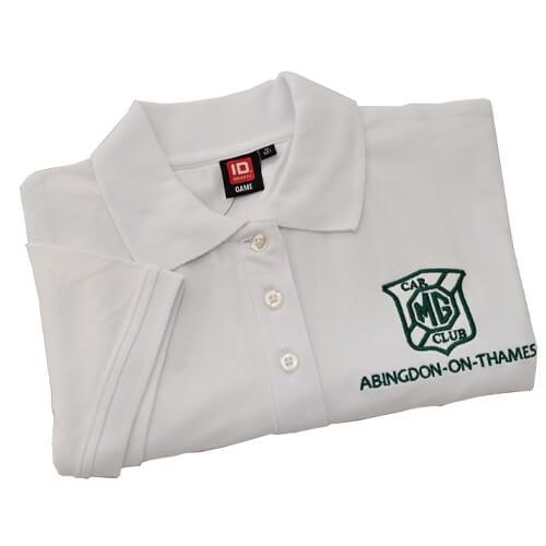 White polo shirt Low res