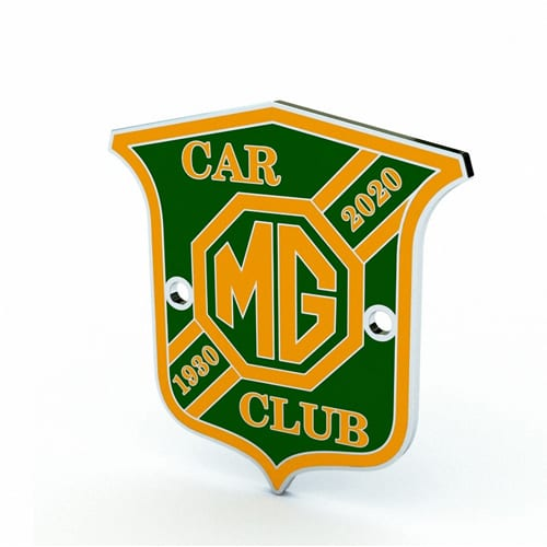 Small 90th Anniversary Grille badge