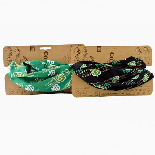 Anniversary Bandanas Green and Black Low Res